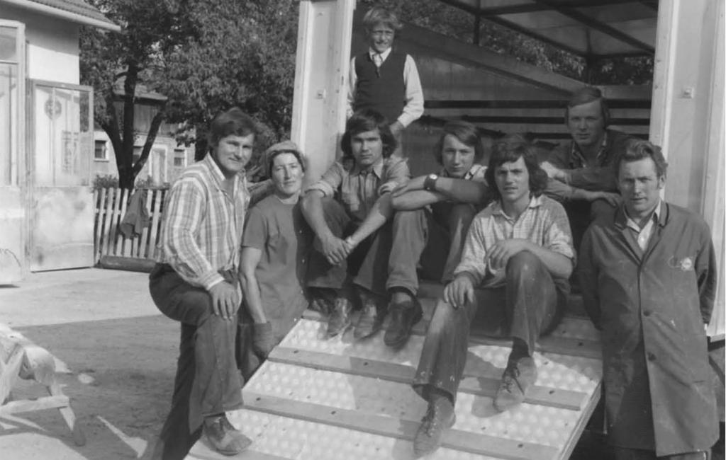 Mitarbeiter Luckerbauer 1970