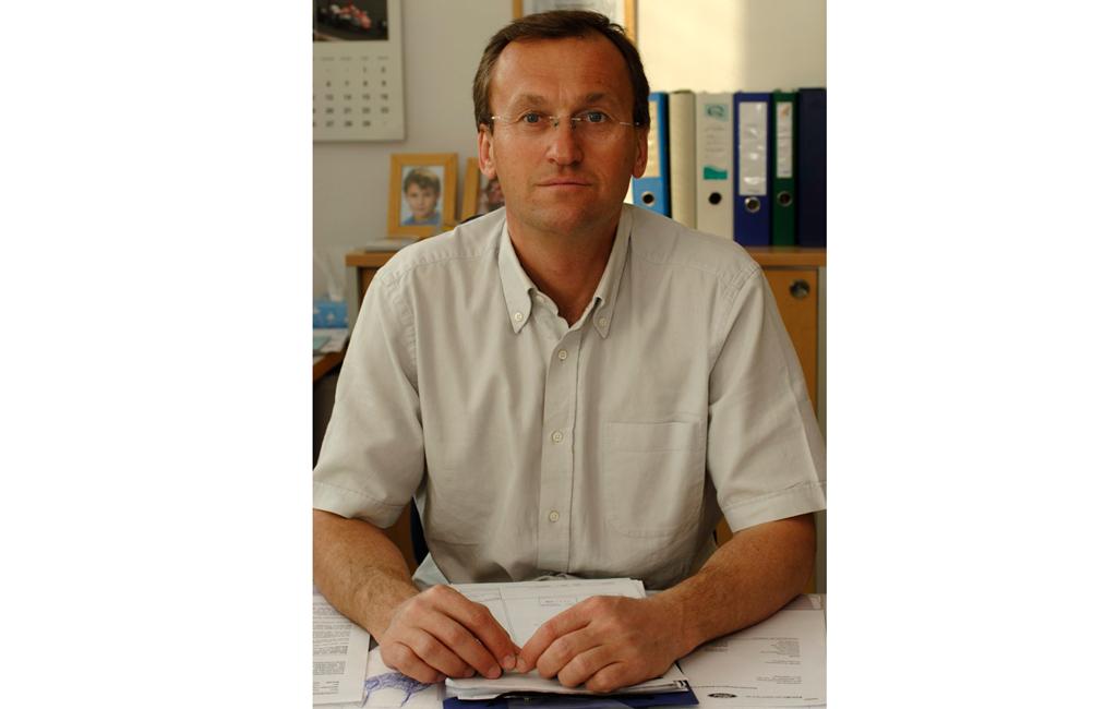 Geschäftsführer Norbert Luckerbauer