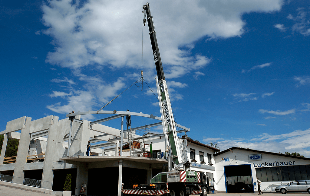 Ausbau Hauptgebäude MC
