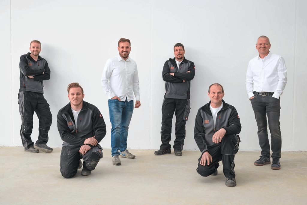 Team des Karosserie und Lackiercenter Stangl